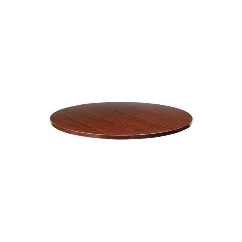lorell-round-tabletop-48-inch-mahogany