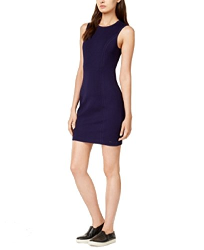 GIORGIO ARMANI Armani Exchange Mini Dress (Solid Navy, L)