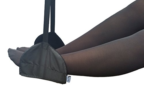 Sleepy Ride - Portable Airplane Footrest (Jet Black) by Sleepy Ride