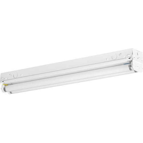 Progress Lighting P7266-30EB Fluorescent Strip Lights 120 Volt Normal Power Factor Electronic Ballast, White