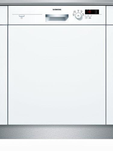 Siemens SN55D202EU iQ300 teilintegrierbarer Geschirrspüler / Einbau / A+ A / 12 Maßgedecke / 60 cm / weiß / varioSpeed / iQDrive