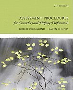 Assessment Procedures for Counselors & Helping Professionals (7th, 10) by Drummond, Robert J - Jones, Karyn Dayle [Hardcover (2009)]