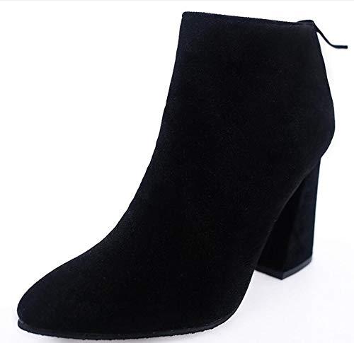 breve puntata scarpe tacchi a stivali b heeled high LIGYM spillo le volgare twqXxxZ