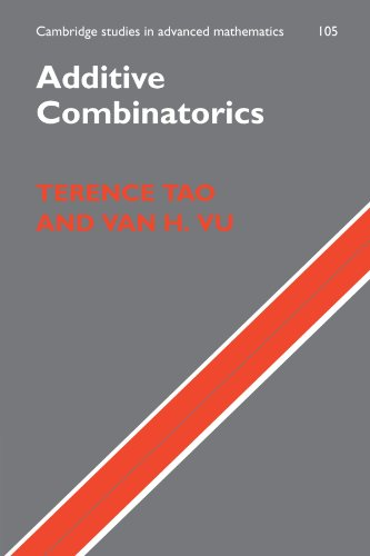 Additive Combinatorics (Cambridge Studies in Advanced Mathematics)