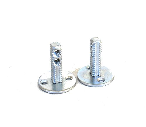 Spindle Dummy (Dummy Spindles Door Hardware PAIR for Antique and New Knobs (creates a pull))
