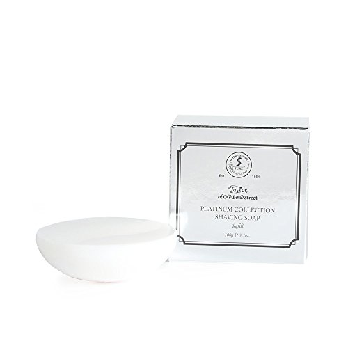 Mens Platinum Collection - Taylor of Old Bond Street Shaving Soap Shaving Soap Refill, Platinum Collection