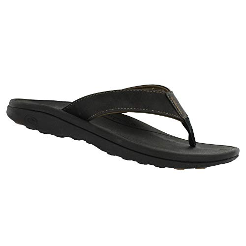 (Cobian Sumo Sandal (Men's) 10 Black)