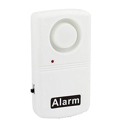eDealMax Ventana de la puerta de seguridad caseras hilos de la vibración de alarma del Detector