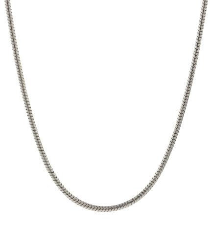 Pori Jewelers 925 Sterling Silver Italian Magic Snake Chain Necklace Strong and Durable- 16-30