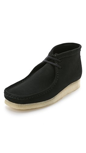 clarks-originals-mens-wallabee-boot-black-suede-9-m