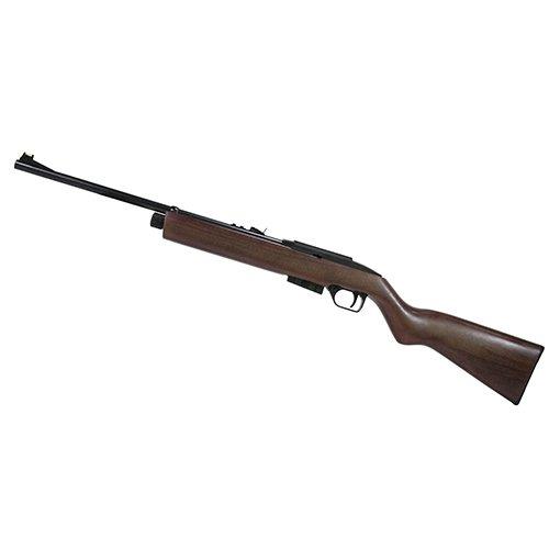 Crosman E-1077W Repeatair 1077 Multi-Shot Semi-Auto Co2 Air Rifle, Wood, 0.177 Caliber (Semi Auto Co2 Air Rifle)