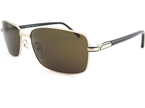 MONT BLANC Men's Sunglasses 62 Shiny Rose Gold / - Glasses Frame Size Guide