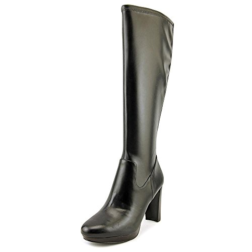 Nine West Womens Krayzie Closed Toe Knee High Fashion Boots Black Size 8 M US (Nine West Boots Rubber)