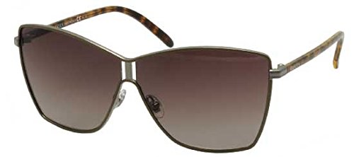 Gucci 4207 WSB Brown Ruthenium Tortoise 4207 Butterfly Sunglasses