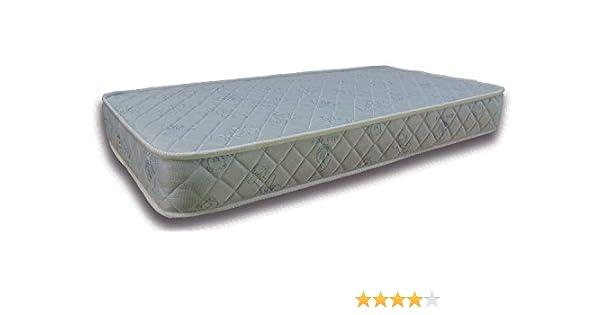 Colchón de MUELLES con LATEX La Cigüeña para CUNA de 60x120 (Altura/Grosor 16 cm): Amazon.es: Bebé
