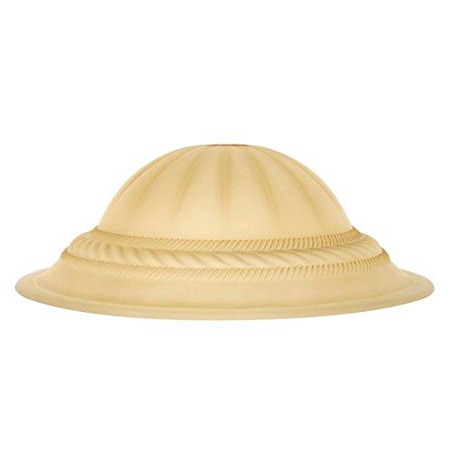 Lampshade/ Table Lamp, Contemporary Indoor Elegant Designer Colored Glass Lamp Shade LLSH2346. 5.5 in. H x 16 in. Diameter