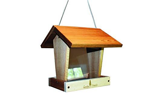 Garden Artworks Cedar Medium Seed Birdfeeder