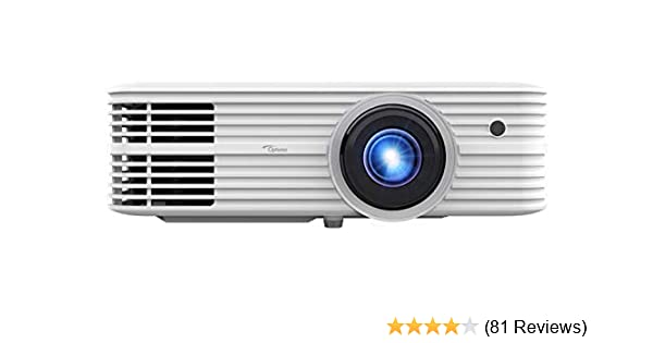 Optoma UHD52ALV True 4K UHD Smart Projector | Super Bright 3500 Lumens | HDR10 + HLG Support | Works with Alexa and Google Assistant | Voice Command | ...