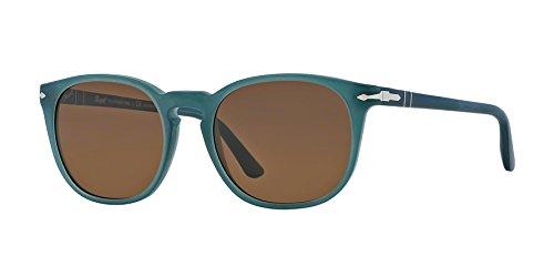 Persol Sunglasses - PO3007 / Frame: Ossidiana Lens: Brown  Polarized-PO3007S901957