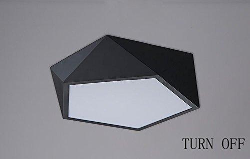 GBT ModernLed Decke Wohnzimmer Wohnzimmer Wohnzimmer Schlafzimmer Den Kreative Persönlichkeit Geometrische Perspektive Deckenleuchte,42cm Weiß B076KHTQ7D | Ausgezeichnete Leistung  f883af