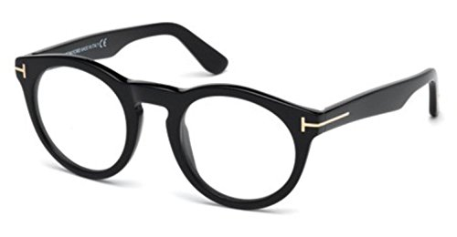 TOM FORD Eyeglasses FT5459 001 Shiny - Ford Frames Tom Glass