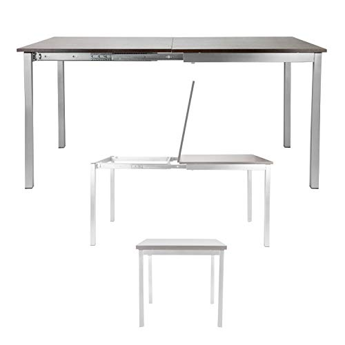 SpaceMaster Corner Housewares Easy Slide Dining Table, One - Table Slides Dining