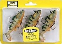Storm WildEye Live Perch 03 Fishing lure (Perch, Size- 3), Outdoor Stuffs