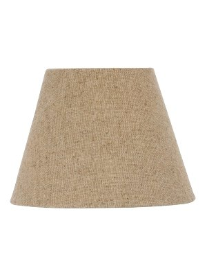 Upgradelights Beige Burlap 12 Inch Empire Style Washer Lampshade Replacement (6x12x8)
