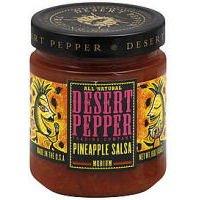 Desert Pepper Trading Pineapple Salsa, 16 Ounce - 6 per case.