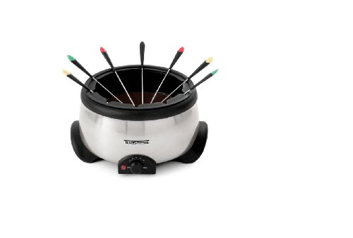 Toastess TEF-428 Silhouette 2-4/5-Quart Fondue Maker