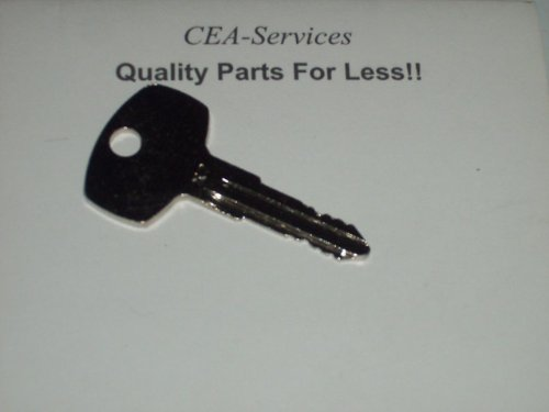 - (1) Key Fits Older Nissan Forklifts Lift Trucks X7 G4