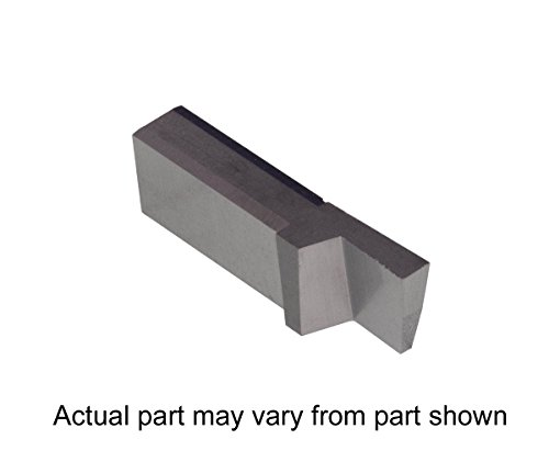 THINBIT 3 Pack LGT072D5R 0.072 Width 0.180 Depth Sharp Corner Uncoated Carbide Grooving Insert for Non-Ferrous Alloys Aluminium and Plastic Without Interrupted Cuts