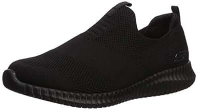 Skechers Mens Elite Flex Wasik Black Size: 6.5 US / 5.5 AU