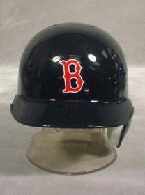 MLB Boston Red Sox Replica Mini Baseball Batting Helmet - Replica Mini Batting Helmet
