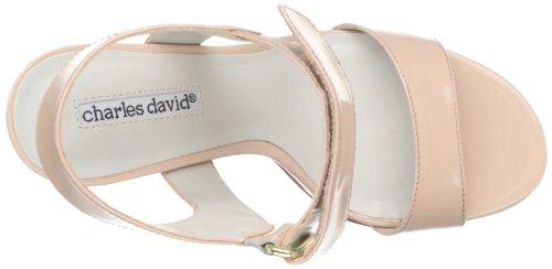 Charles David Femmes Tracy Cheville-sandale Rose Clair Brevet