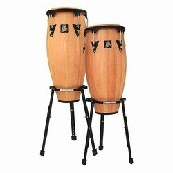 Latin Percussion LPA646B-AW Conga Drum Natural / Black