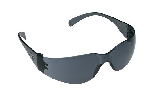 3M Tekk 11330 Virtua Anti-Fog Safety Glasses, Gray-Frame, Gray-Lens, 4-PACK