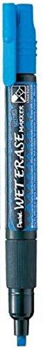 (Pentel Wet Erase Chalk Marker, Blue Medium (SMW26-C))