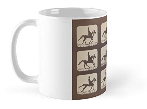 Horse Galloping Muybridge 1879 Mug - 11oz - The most meaningful gift for family and friends.