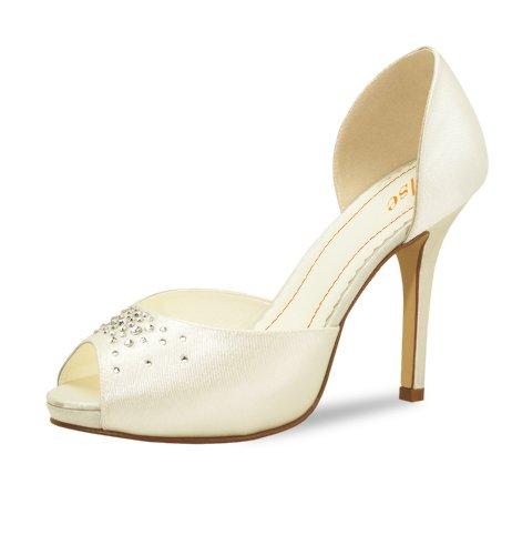 toe Peep Shoes Elsa Escarpins Coloured Ivoire Colada Femme Pina SqBYZOwxF