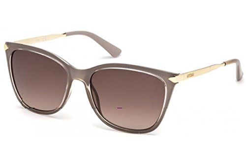 GUESS Women's Metal Arm Square - Guess Pink Sunglasses