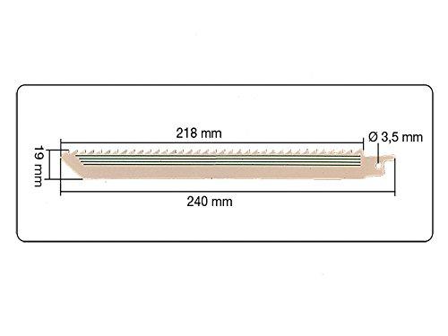 5 teiliges Set S/äbels/ägebl/ätter 5 ZpZ 240 mm f/ür Holz