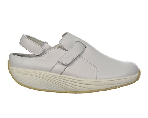 MBT Women's Flua Work Walking Shoe EU 36/US 5-5.5 White by MBT