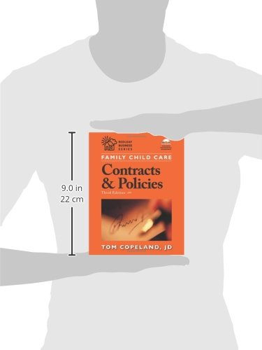 Family Child Care Contracts And Policies Third Edition How To Be