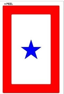 Blue Star Mothers Flag - 6