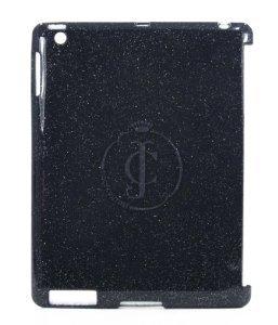 (Juicy Couture Glitter Jelli iPad Shell (Black))