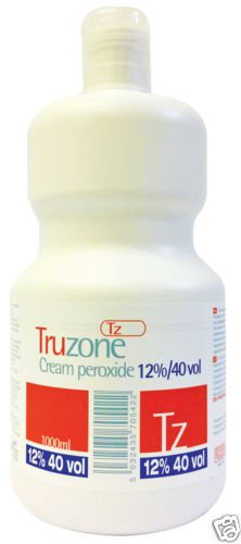 Truzone Cream Peroxide 12% 40 Volume 1000ml *Formulated To Improve Mixability* USA