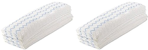 Rubbermaid Commercial Disposable Microfiber Mop Pads, 18-inch, 150 Pads(2 Pack)