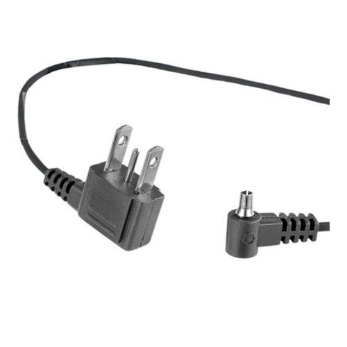 Quantum Instruments 539 Radio Slave 4/4i Cord - PC Male to Household 3-Pin - Straight - 12