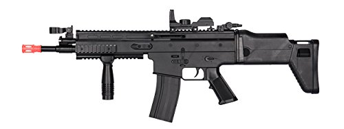 UKARMS MK16 Spring Airsoft Rifle Gun FPS 335 w/ Folding Rear